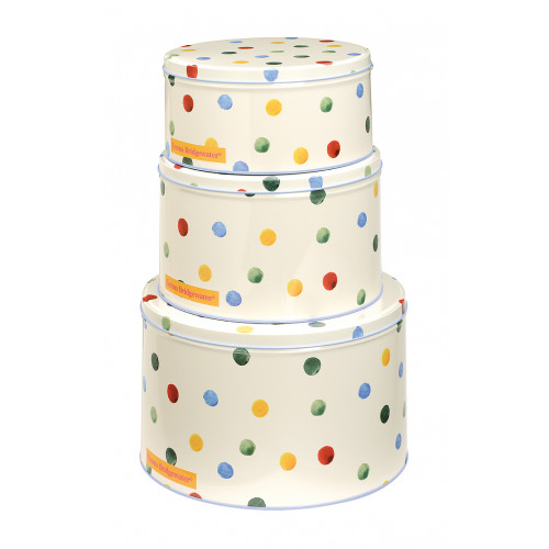 Set of 3 Round Cake Tins