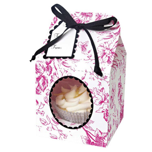 Toile Cupcake Box | Toile Boxes for Cupcakes