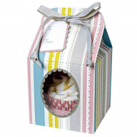 Striped Cupcake Box | Stripey Boxes for Cupcakes